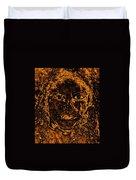 Portrait Of An Ancient Woman Duvet Cover