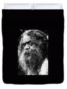 Portrait Of An Australian Aborigine Duvet Cover
