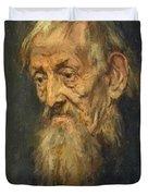 Portrait Of An Old Man 1913 Duvet Cover