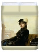Portrait Of An Unknown Woman Duvet Cover
