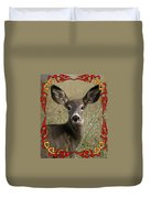 Portrait Of Bambi Duvet Cover