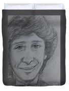 Portrait Of Barry Manilow 3 Duvet Cover
