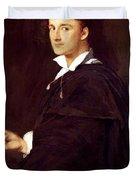 Portrait Of Bartolini Duvet Cover