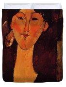 Portrait Of Beatrice Hastings 1915 Duvet Cover