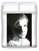 Portrait Of Bridget L. Duvet Cover