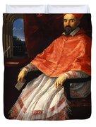 Portrait Of Cardinal Roberto Ubaldini 1625 Duvet Cover