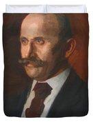 Portrait Of Charles Gruppe 1904 Duvet Cover