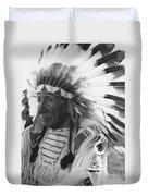 Portrait Of Chief Red Cloud Duvet Cover