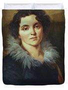 Portrait Of Darya Nikolaevna Chvostova 1814 Duvet Cover