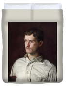 Portrait Of Douglass Morgan Hall Duvet Cover