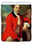 Portrait Of Edmund Rolfe Duvet Cover
