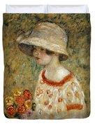 Portrait Of Frances Kilmer Duvet Cover