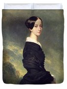 Portrait Of Francisca Caroline De Braganca Duvet Cover
