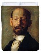 Portrait Of Frank B A Linton 1904 Duvet Cover