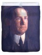 Portrait Of Frank Lindsay Greenwalt 1903 Duvet Cover