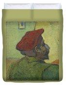 Portrait Of Gauguin Arles December 1888 Vincent Van Gogh 1853  1890 Duvet Cover