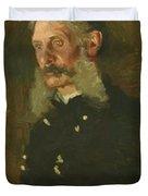 Portrait Of General E Burd Grubb Duvet Cover