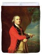 Portrait Of General Thomas Gage Duvet Cover by John Singleton Copley