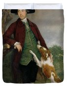 Portrait Of George Venables Vernon Duvet Cover by Thomas Gainsborough