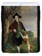 Portrait Of George Venables Vernon Duvet Cover by Thomas Gainsborough