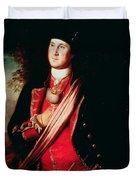 Portrait Of George Washington Duvet Cover