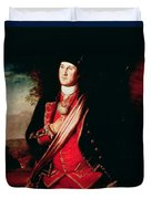 Portrait Of George Washington Duvet Cover by Charles Willson Peale