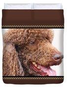 Portrait Of Guinness Duvet Cover