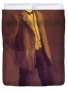 Portrait Of John Mclure Hamilton 1895 Duvet Cover