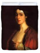 Portrait Of Katherine Cecil Sanford Duvet Cover