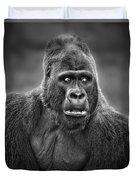 Portrait Of King Kongs Cousin IIi Duvet Cover