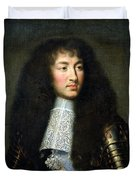 Portrait Of Louis Xiv Duvet Cover
