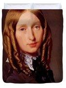 Portrait Of Madame Frederic Reiset 1847 Duvet Cover
