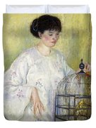 Portrait Of Madame Frieseke Duvet Cover