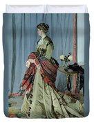 Portrait Of Madame Louis Joachim Gaudibert Duvet Cover