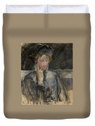 Portrait Of Maria Bal Duvet Cover