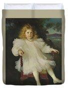 Portrait Of Marjorie Coldwell Westinghouse  Duvet Cover