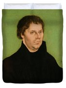 Portrait Of Martin Luther Duvet Cover