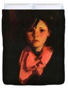 Portrait Of Mary Ann 1926 Duvet Cover
