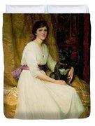 Portrait Of Miss Dorothy Dicksee  Duvet Cover