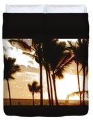 Portrait Of Paradise Duvet Cover