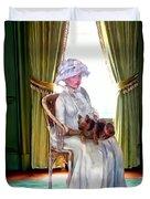 Portrait Of Prudence Duvet Cover