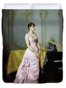 Portrait Of Rose Caron Duvet Cover
