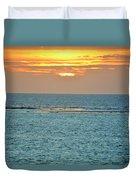 Portrait Of The Sea Duvet Cover