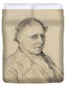 Portrait Of Sir Drack Duvet Cover