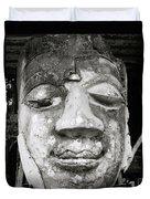 Portrait Of The Buddha Duvet Cover