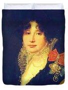 Portrait Of The Princess A Scherbatova 1808 Duvet Cover