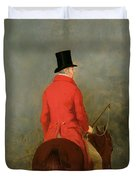Portrait Of Thomas Cholmondeley Duvet Cover by Henry Calvert