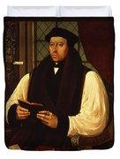 Portrait Of Thomas Cranmer Duvet Cover