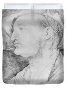 Portrait Of Ulrich Varnbiiler 1522 Duvet Cover