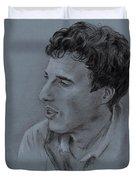 Portrait Of Young Man 19 Duvet Cover